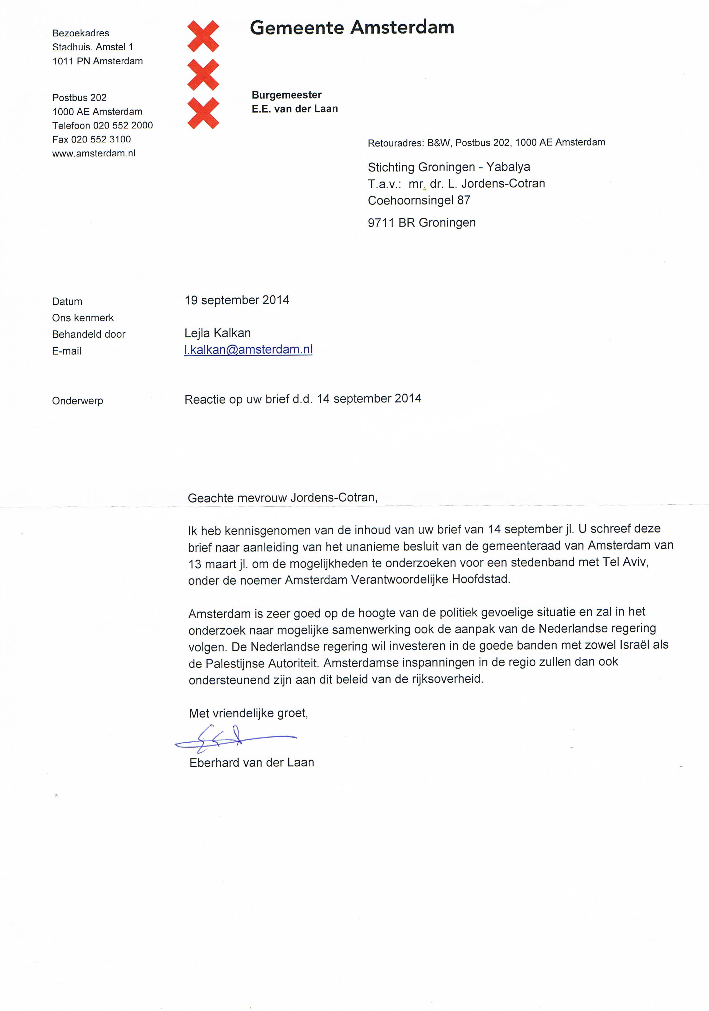 brief aan gemeenteraad voorbeeld Brief Aan Gemeenteraad Voorbeeld | gantinova