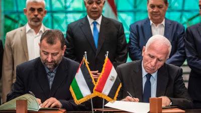 Hamas en Fatah sluiten overeenkomst over terugkeer van de Palestijnse regering naar Gaza