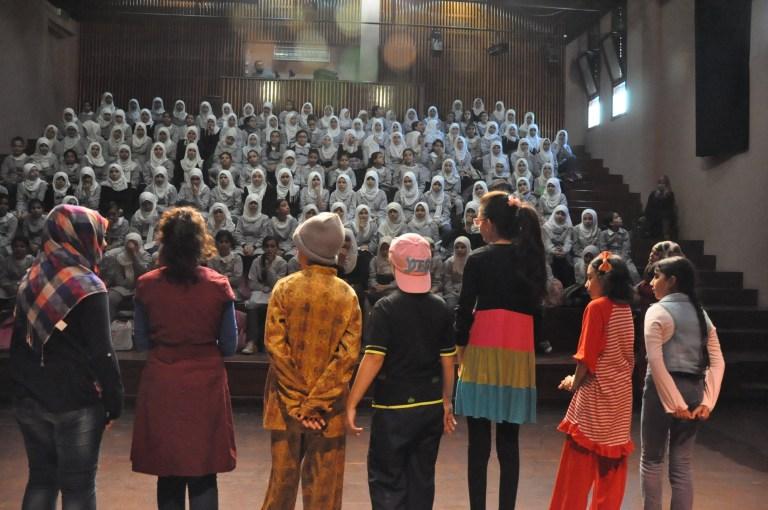 Bijeenkomst met theatermaker in Gaza