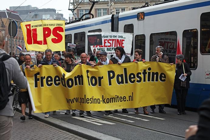 Toespraak Mohamed Kafina op demonstratie 19 mei