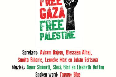 "Op 3 juni manifestatie ""Free Gaza"" in Groningen"