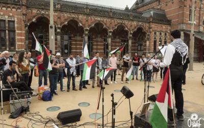 Verslag Gaza manifestatie van 3 juni