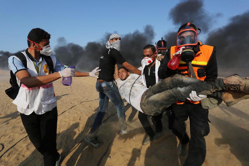 Zeven doden en vele honderden gewonden tijdens vrijdag demonstraties in Gaza
