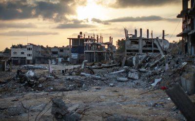 Column Carolien Roelants: Recent rapport Wereldbank verklaart Gaza tot rampgebied