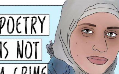 Poëzie is geen misdaad – teken petitie voor vrijheid van expressie voor dichteres Dareen Tatour