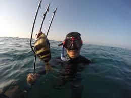 Speervissen in Gaza