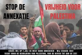 Annexatie Palestijns gebied door Israël is flagrante schending internationaal recht