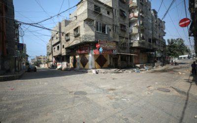 Gaza: het leven tijdens een lockdown