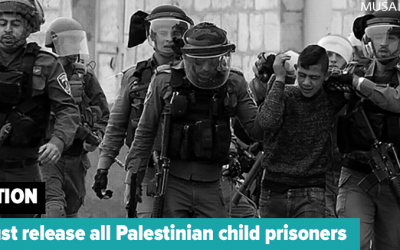 petitie: Israel, laat alle kindgevangenen vrij tijdens corona pandemie