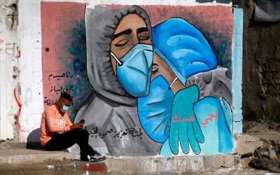 Ongekende toename van COVID-19 gevallen in de Gazastrook