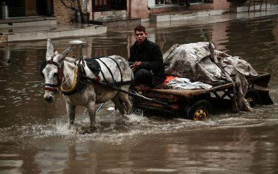 Winterweer brengt nieuwe rampspoed voor Gaza