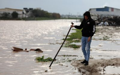 Zet Israël de boerderijen in Gaza onder water?