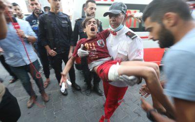 Israelische scherpschutters schieten op kinderen in Gaza