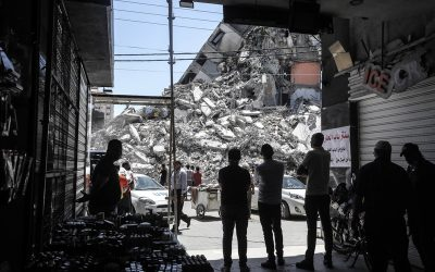 VN, EU en Wereldbank steunen de blokkade tegen Gaza